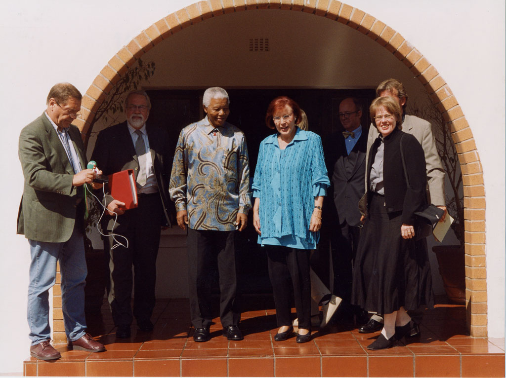 S¸dafrika: Bei Nelson Mandela
